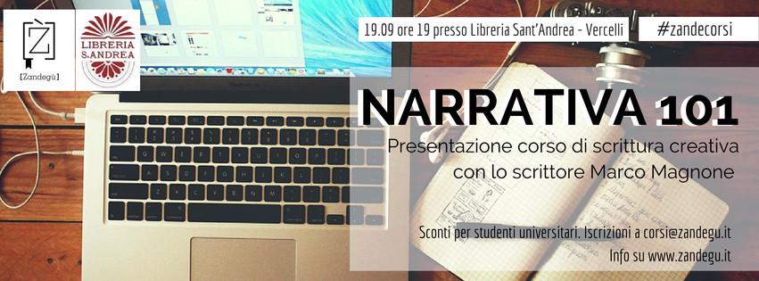 Presentazione Narrativa a Vercelli