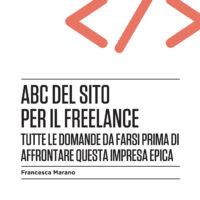 ABC del sito per il freelance